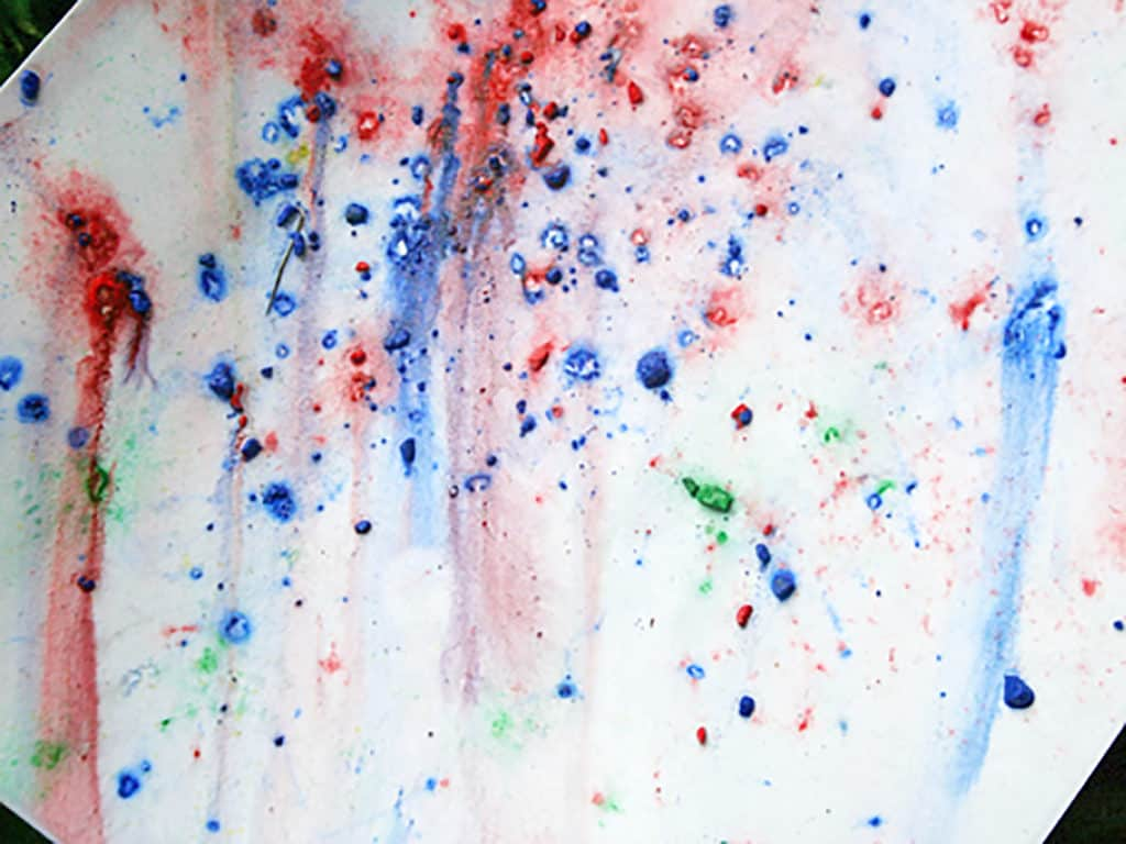 Rainy Day Art Project for Kids