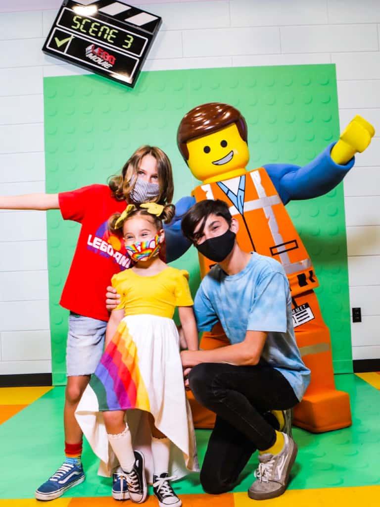 LEGO Movie World at Legoland Emmet Meet and Greet