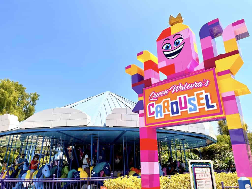 Queen Watevra's Carousel at Legoland