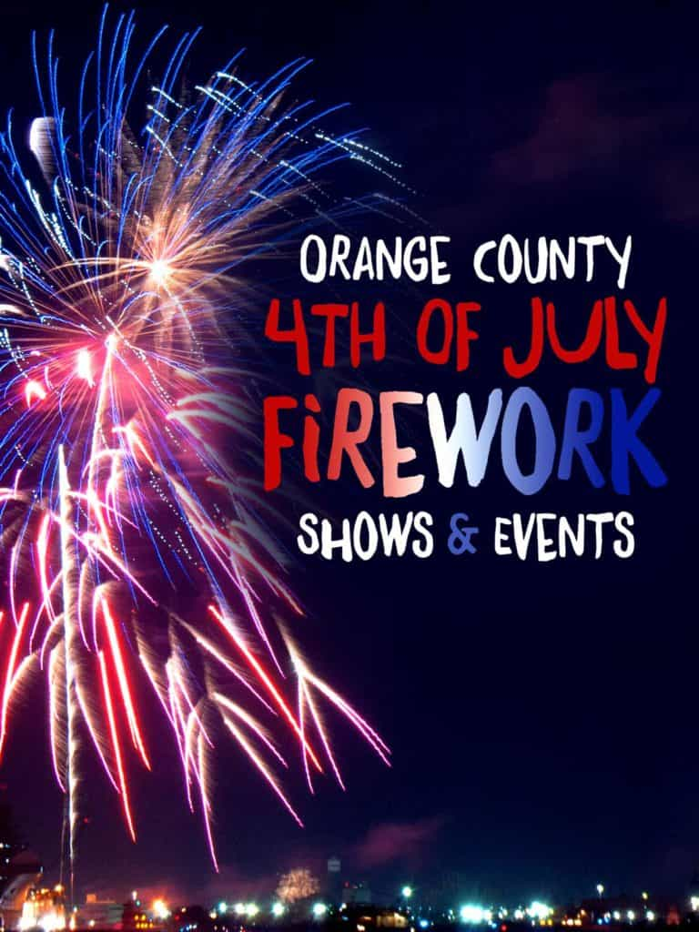 OC Firework Shows and Events 2021