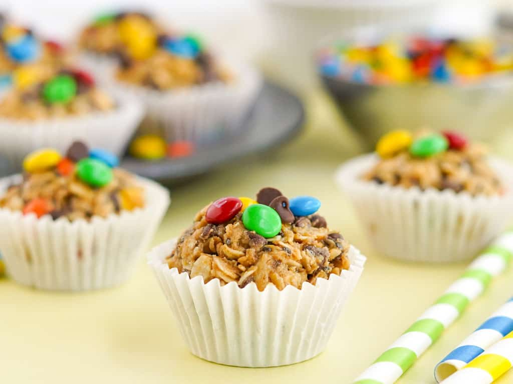 Monster Peanut Butter Protein Balls Recipe