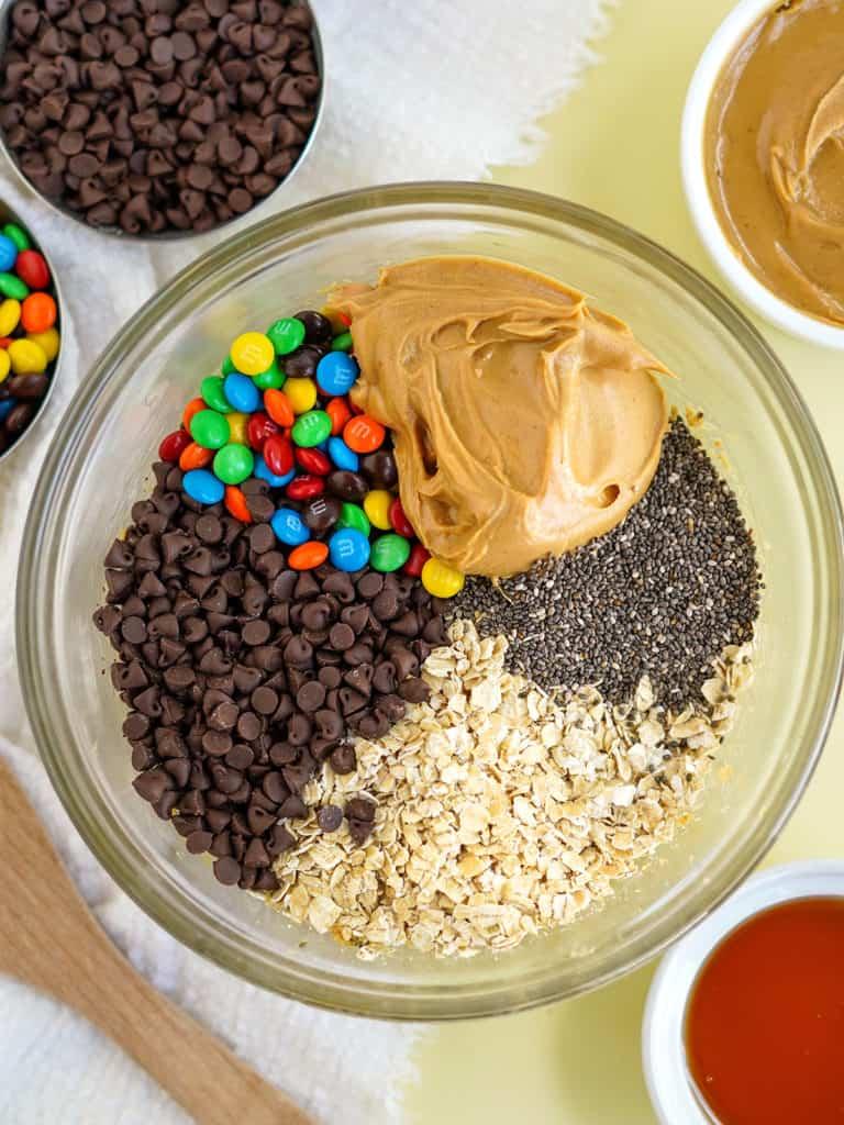 No Bake Protein Balls Ingredients