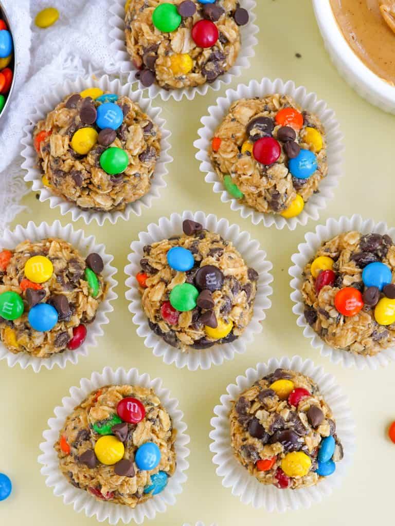 Easy Monster Peanut Butter Protein Balls Recipe