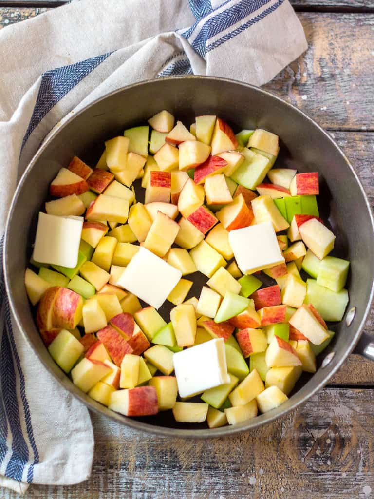 How to Make Apple Topping