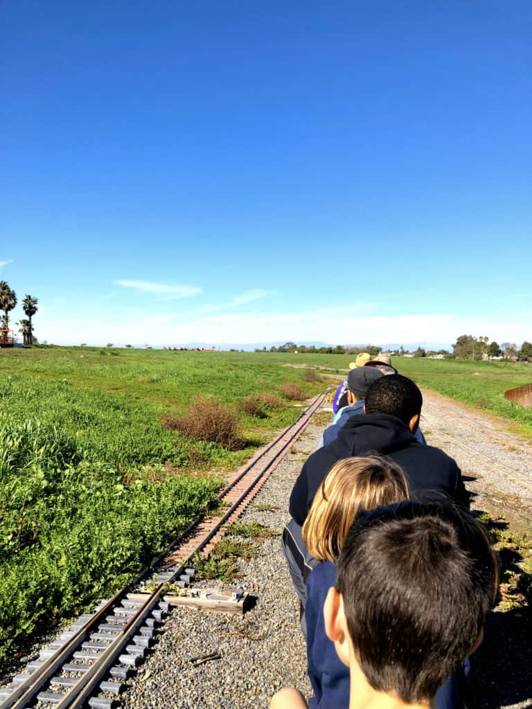 Where to ride trains in Orange County, CA