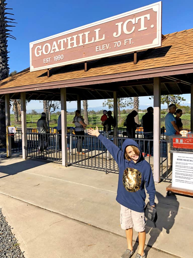 Free Train Rides at Goat Hill Junction in Costa Mesa, CA